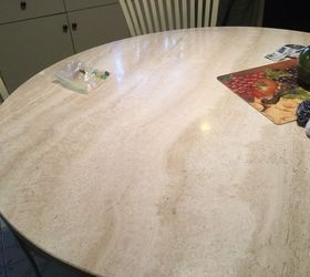 Q How Do I Get The Shine Back On A Marble Table Top