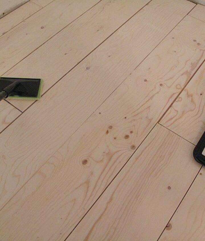 plywood plank flooring
