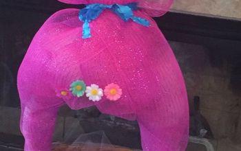 Making a Poppy Troll Easter Basket