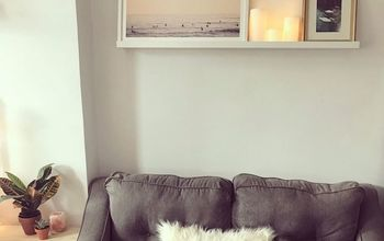 Boring Empty White Wall To Feature Wall!