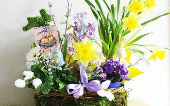 Martha Stewart Inspired Easter Basket