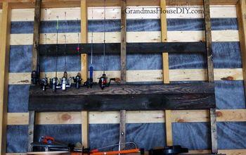 http www grandmashousediy com ice fishing rod rack