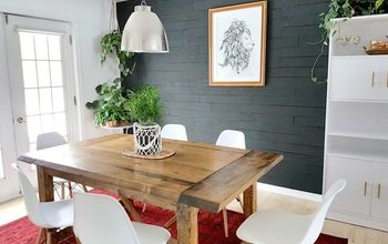 DIY Beginner Builder Dining Room Table: Free Plans!