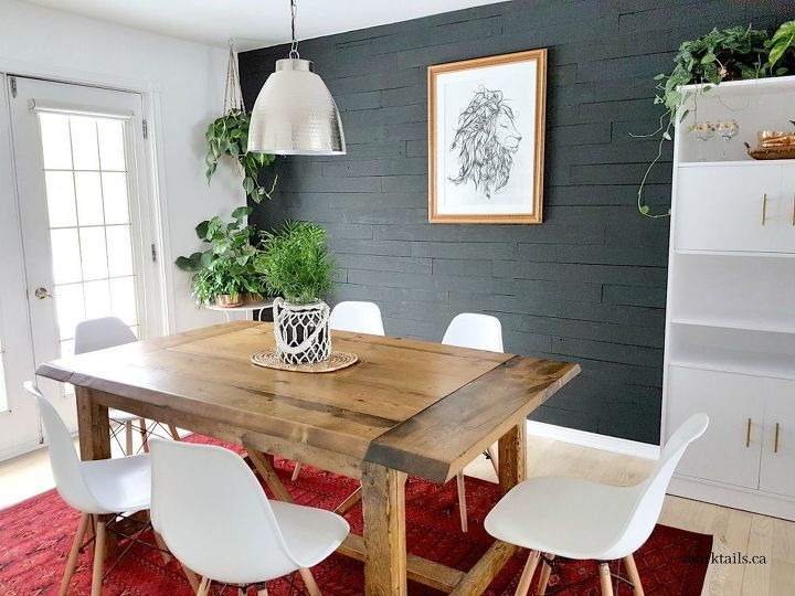 diy beginner builder dining room table free plans