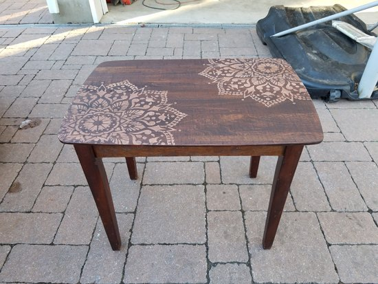 Your Scratched Up Table Is About To Look So Exotic Hometalk