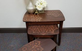how to stencil nesting tables using the passion mandala, animals, appliance repair, appliances, architecture, basement ideas, bathroom ideas, bedroom ideas, bug extermination, bug repellent, chalk paint, chalkboard paint, christmas decorations, cleaning tips, closet, composting, concrete masonry, concrete countertops, concrete creations, concrete repair, container gardening, cosmetic changes, countertops, craft rooms, crafts, curb appeal, decks, decoupage, dining room ideas, diy, doors, earthworms, easter decorations, electrical, entertainment rec rooms, exterior home painting, fabric cleaning, fences, fireplace cleaning, fireplace makeovers, fireplaces mantels, fixing windows, flooring, flowers, foyer, furniture cleaning, furniture id, furniture refurbishing, furniture repair, garage doors, garages, gardening, gardening pests, gardening tools, go green, halloween decorations, hardwood floors, hibiscus, home decor, home decor cleaning, home decor dilemma, home decor id, home improvement, home maintenance repairs, home office, home security, homesteading, house cleaning, how to, hvac, hydrangea, indoor pests, interior home painting, kitchen backsplash, kitchen cabinets, kitchen design, kitchen island, landscape, large home improvement projects, laundry rooms, lawn care, lighting, living room ideas, major home repair, mantels, mason jars, minor home repair, organizing, outdoor furniture, outdoor living, outdoors cleaning, paint colors, painted furniture, painted furniture finishes, painting, painting cabinets, painting concrete, painting over finishes, painting upholstered furniture, painting wood furniture, pallet, patio, patriotic decor ideas, perennial, pest control, pet stain cleaning, pets, pets animals, plant care, plant id, plumbing, ponds water features, pool designs, porches, products, raised garden beds, real estate, removing paint from furniture, repurpose building materials, repurpose furniture, repurpose household items, repurpose unique pieces, repurpose windows, repurposing upcycling, reupholstoring, roofing, rustic furniture, seasonal holiday decor, shabby chic, shelving ideas, small bathroom ideas, small home improvement projects, spas, stairs, storage ideas, succulents, terrarium, thanksgiving decorations, tile flooring, tiling, tools, reupholster, urban living, valentines day ideas, wall decor, window treatments, windows, woodworking projects, wreaths