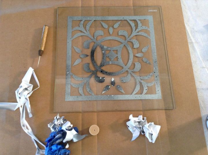Antique Mirror Effects On Glass Hometalk