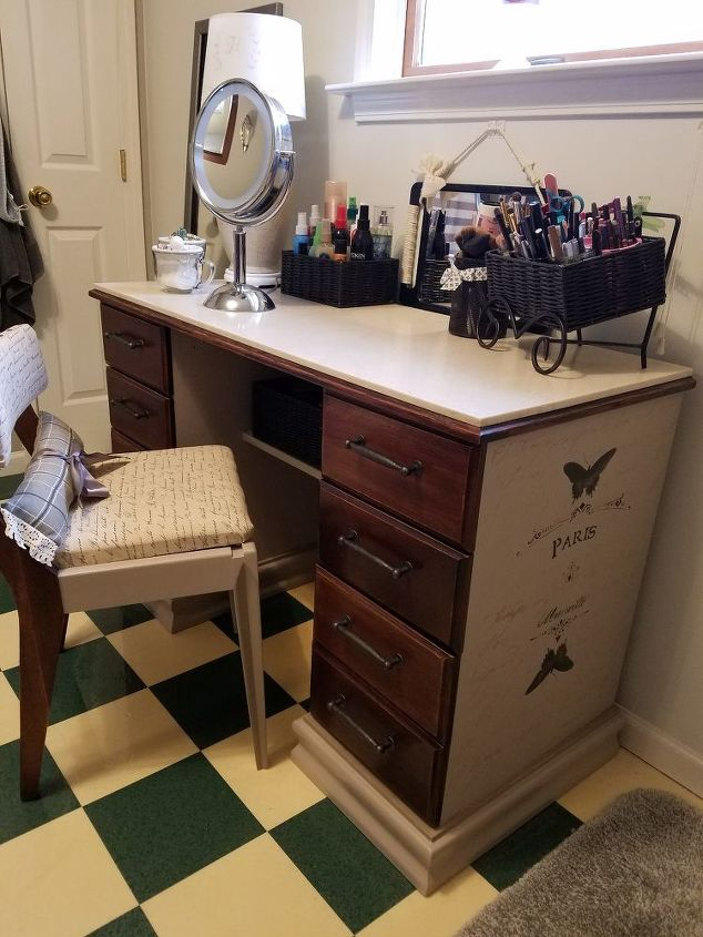 Have I Mentioned This Before New Vanity Makeover