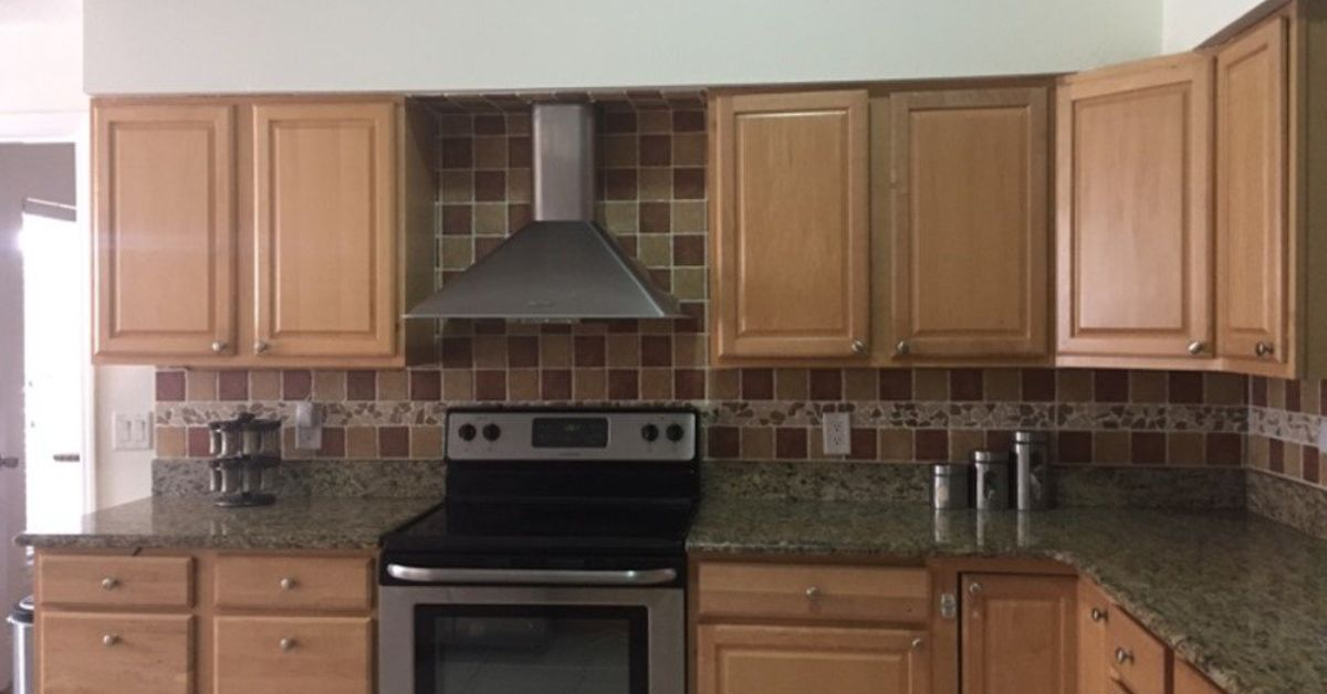 Mini kitchen makeover with diy under cabinet lighting hometalk aloadofball Image collections