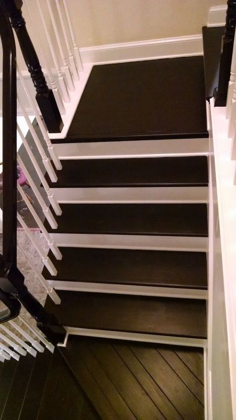 Stair Case Black And White Hometalk