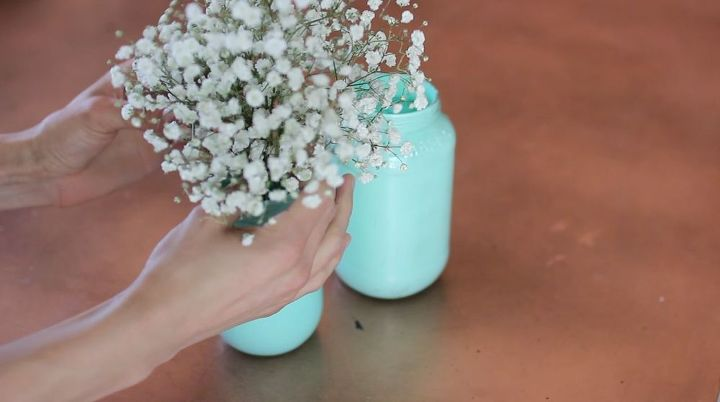 Diy Mason Jar Centerpiece Idea Hometalk