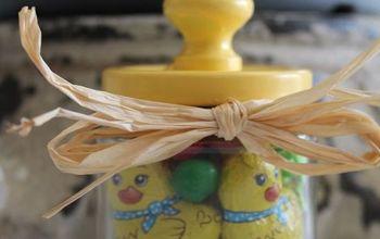 Easter Basket in a Jar