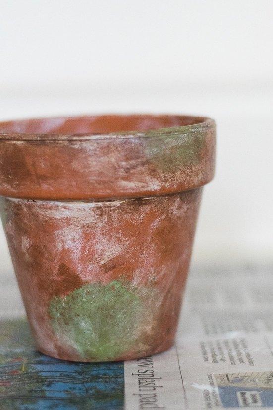 Diy Mossy And Aged Terra Cotta Pots Hometalk