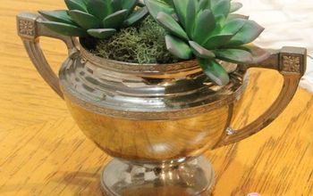 DIY, Farmhouse-Styled Decor Using Thrift-Store Finds