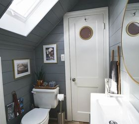 Tiny Attic Bathroom Gets A Diy Update, Animals, Appliance Repair,  Appliances, Architecture