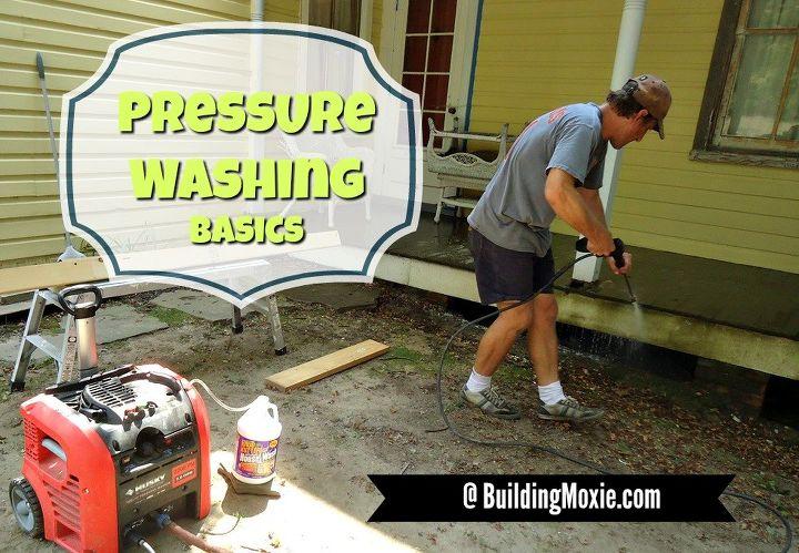 Pressure Washing Basics Like Sweeping But With Hi