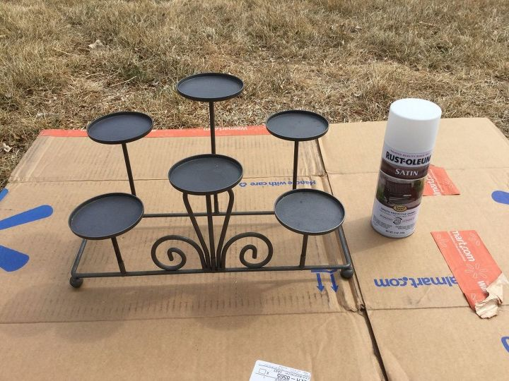 2 upcycles to tea cup serving trays hometalk for Kitchen colors with white cabinets with candle holder fireplace