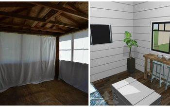 Guest Cottage Shed Plans: Modern Farmhouse Meets Bohemian Cottage