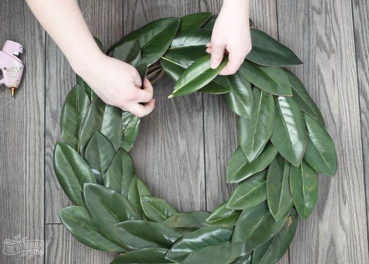 Diy Magnolia Wreath Hometalk