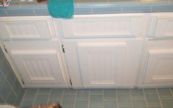How to Update Flat Doors Using Throw-Away Cabinet Doors