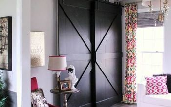 How to Build Black Bypass Barndoors for Under $100