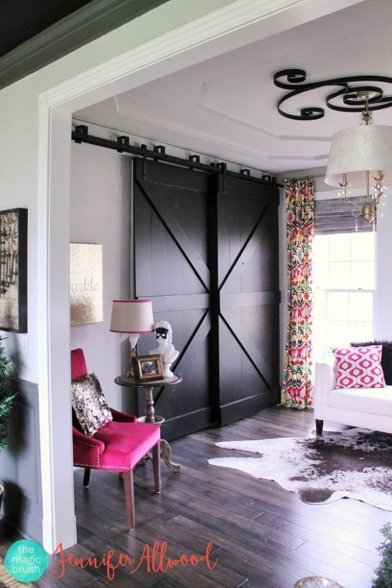 How To Build Black Bypass Barndoors For Under 100 Hometalk