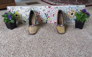 mosaic shoe planter door stop, animals, appliance repair, appliances, architecture, basement ideas, bathroom ideas, bedroom ideas, bug extermination, bug repellent, chalk paint, chalkboard paint, christmas decorations, cleaning tips, closet, composting, concrete masonry, concrete countertops, concrete creations, concrete repair, container gardening, cosmetic changes, countertops, craft rooms, crafts, curb appeal, decks, decoupage, dining room ideas, diy, doors, earthworms, easter decorations, electrical, entertainment rec rooms, exterior home painting, fabric cleaning, fences, fireplace cleaning, fireplace makeovers, fireplaces mantels, fixing windows, flooring, flowers, foyer, furniture cleaning, furniture id, furniture refurbishing, furniture repair, garage doors, garages, gardening, gardening pests, gardening tools, go green, halloween decorations, hardwood floors, hibiscus, home decor, home decor cleaning, home decor dilemma, home decor id, home improvement, home maintenance repairs, home office, home security, homesteading, house cleaning, how to, hvac, hydrangea, indoor pests, interior home painting, kitchen backsplash, kitchen cabinets, kitchen design, kitchen island, landscape, large home improvement projects, laundry rooms, lawn care, lighting, living room ideas, major home repair, mantels, mason jars, minor home repair, organizing, outdoor furniture, outdoor living, outdoors cleaning, paint colors, painted furniture, painted furniture finishes, painting, painting cabinets, painting concrete, painting over finishes, painting upholstered furniture, painting wood furniture, pallet, patio, patriotic decor ideas, perennial, pest control, pet stain cleaning, pets, pets animals, plant care, plant id, plumbing, ponds water features, pool designs, porches, products, raised garden beds, real estate, removing paint from furniture, repurpose building materials, repurpose furniture, repurpose household items, repurpose unique pieces, repurpose windows, repurposing upcy