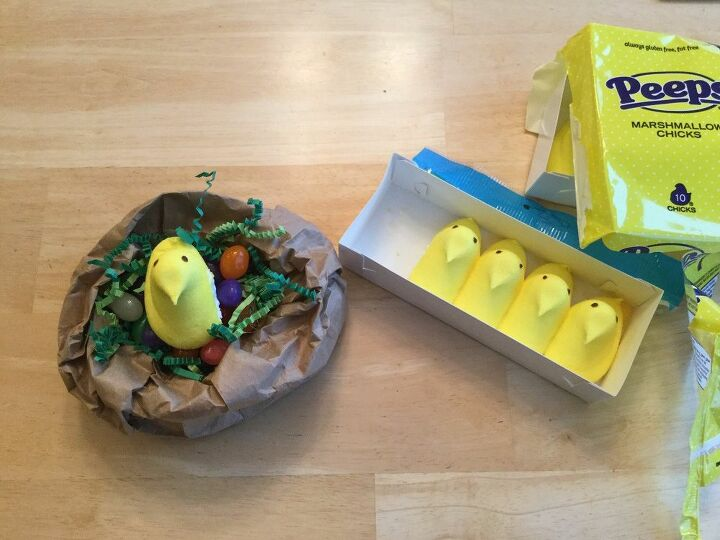 e crafternoons easter goodie nest