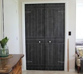 Diy Closet Door Update Turn Plain Doors Into A Giant Chalkboard, Animals,  Appliance Repair CreekLineHouse .