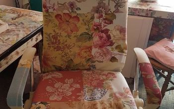 From Dull and Boring Office Chair to Crafter's Joy