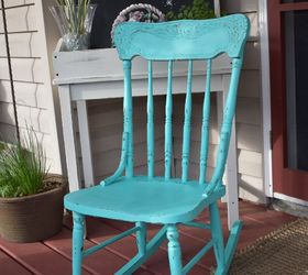 Super Easy Rocking Chair Makeover