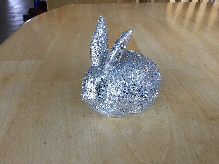 e crafternoons glitter easter bunny