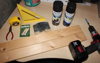 how to make two 2 custom wood scarf holder