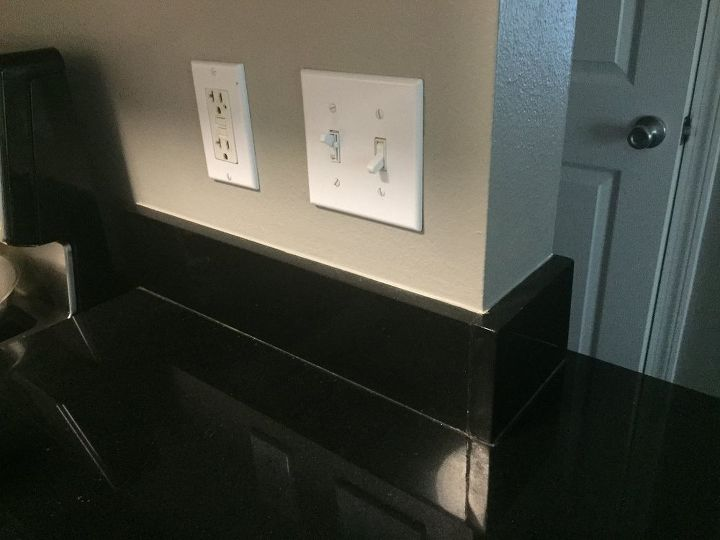 q easy removal of granite backsplash