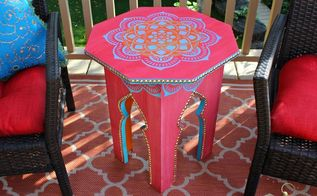 moroccan side table build