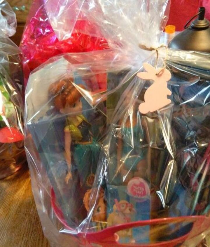 easter baskets with more than candy