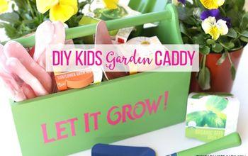 DIY Kids Garden Caddy