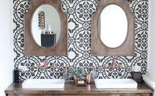 modern farmhouse bathrooom renovation