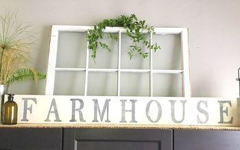 diy farmhouse sign you can easily make yourself