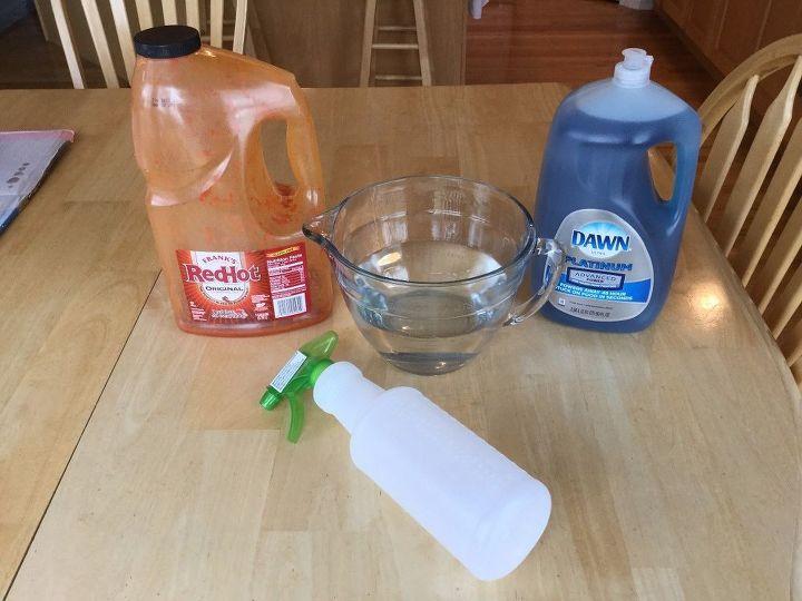 save your garden sprays