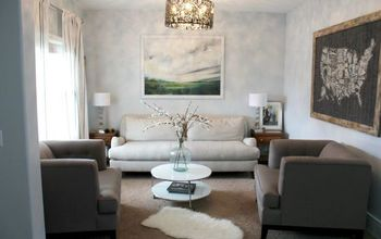 Peaceful Art and Front Room Reveal