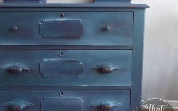 renew an old dresser to be a statement piece