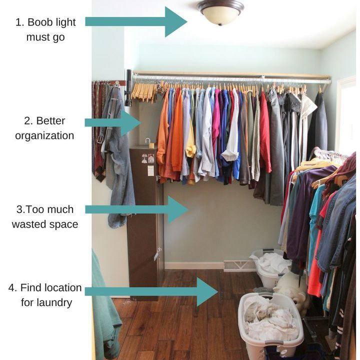 Diy Master Bedroom Closet Makeover On A Budget