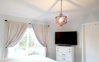 master bedroom gets a modern country style charm makeover
