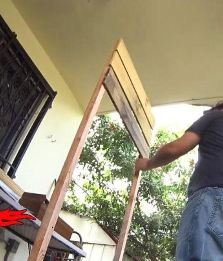 adding horizontal slats for privacy