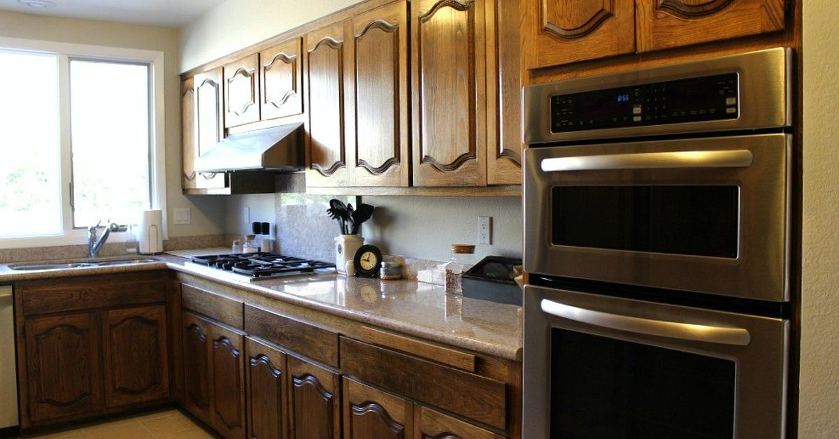 how do i paint my kitchen cabinets my new favorite way to paint kitchen cabinets hometalk 9250