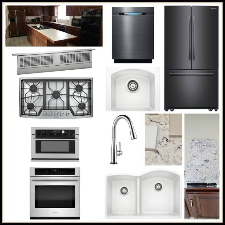 Design Board for Traditional Kitchen Updates