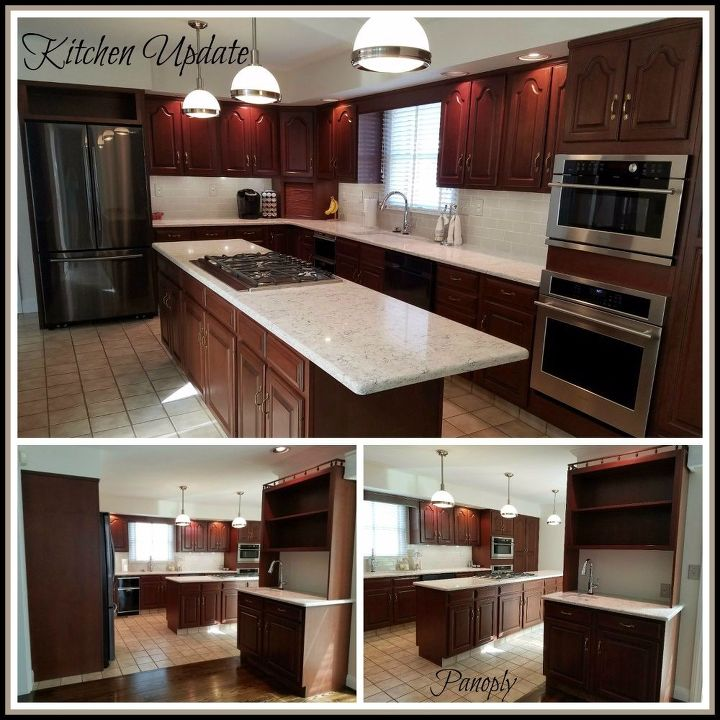 After: Traditional Kitchen Update
