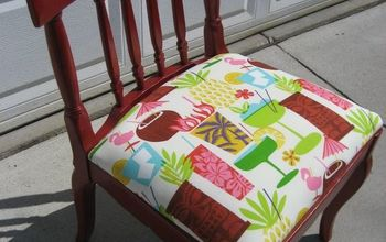 My Tiki Chair Makeover