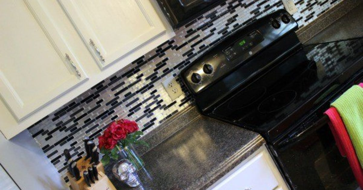 Peel N Stick Backsplash Tile Hometalk